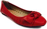 Red Liliana Ballet Flat