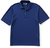 Roundtree & Yorke Performance Big & Tall Short-Sleeve InnoVent Solid Polo