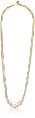 "lonna & lilly Classics"" Multi-Row Gold-Tone Chain Necklace 36"""