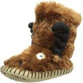 Hatley Little Boys' Kids Slouch Slipper-Moose