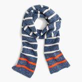 J.Crew Kids' marled striped scarf