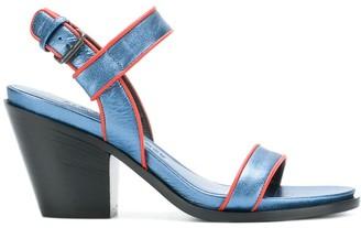 A.F.Vandevorst Brick sandals