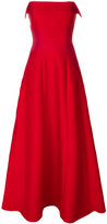 Alberta Ferretti Tulip maxi dress - women - Silk/Cotton/Acetate/other fibers - 38