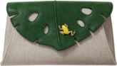 Charlotte Olympia Monstera Clutch