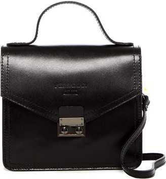 Persaman New York Farah Leather Satchel
