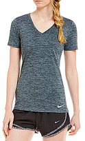 Nike Short Sleeve V-Neck Legend Short Sleeve Dry Tee
