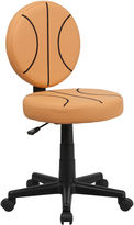 Asstd National Brand Kids Armless Soccer Task Chair