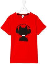 Karl Lagerfeld printed T-shirt - kids - Cotton - 14 yrs
