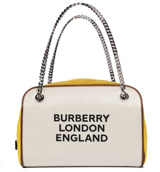 Burberry Exclusive to Mytheresa Cube Large canvas tote