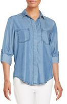 Saks Fifth Avenue RED Riley Chambray Shirt