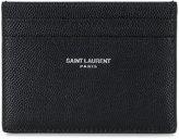Logo Print Leather Card Holder