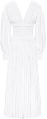 KHAITE Dawny cotton maxi dress