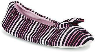 Isotoner 97205 women's Flip flops in Purple