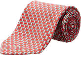 Salvatore Ferragamo Red Bunnies Silk Tie