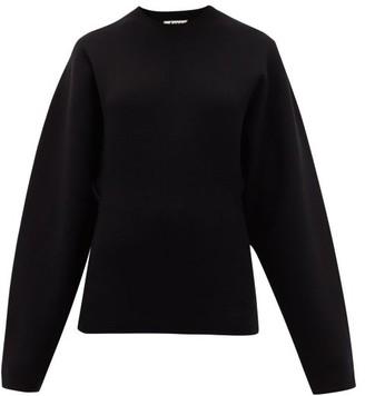 Acne Studios Konstanze Dolman-sleeve Sweater - Black