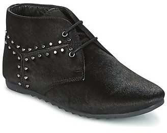 Maruti GINGER women's Mid Boots in Black