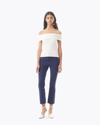 3.1 Phillip Lim Ribbed Off The Shoulder Sweater