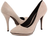 Elizabeth and James - Falin (Nude Suede) - Footwear