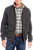 Daniel Cremieux French Rib Double-Face Full-Zip Cardigan