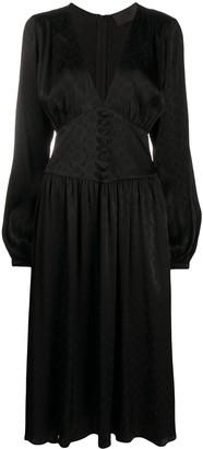 Philipp Plein Eloise monogram-print dress