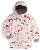 Dolce & Gabbana &Disegni Bambina& Print Puffer Jacket (Toddler Girls, Little Girls & Big Girls)