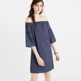 Madewell Off-the-Shoulder Bell-Sleeve Dress