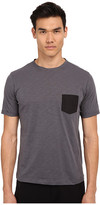 The Kooples Sport Jersey & Nylon Pocket Tee Shirt