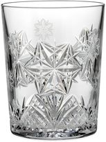 Waterford Crystal Snowflake Wishes 2014 4th Edition Peace Mooncoin Double Old Fashioned Glass