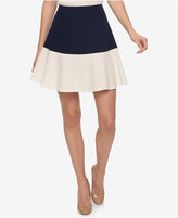 Tommy Hilfiger Colorblocked Fit & Flare Skirt