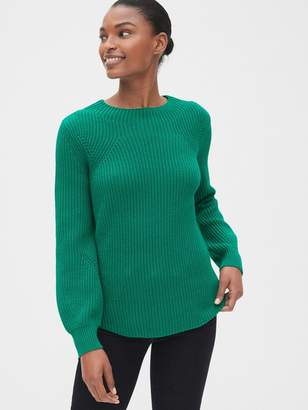 Gap Shaker Stitch Crewneck Sweater