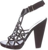 Givenchy Laser Cut Suede Sandals