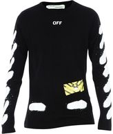 Off-White Printed Sweater