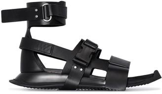 Rick Owens Leather Gladiator Sandals