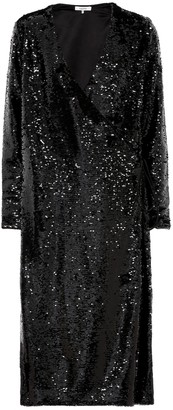 Ganni Sequined midi dress
