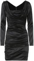 Dolce & Gabbana Stretch silk minidress