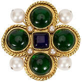 One Kings Lane Vintage 1980s Chanel Maltese Cross Gripoix Pin