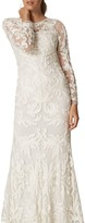 Phase Eight Bridal Aubrina Tapework Wedding Dress, Pearl