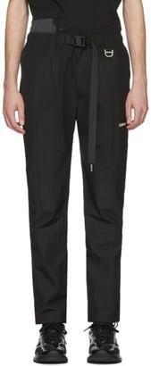 C2H4 Black Buckle Lounge Pants