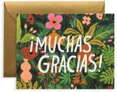 Rifle Paper Co. Muchas Gracias Thank You Card/Set of 8