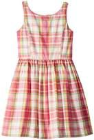 Polo Ralph Lauren Madras Cotton Sleeveless Dress Girl's Dress