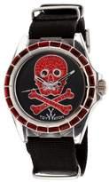 Toy Watch Men's SB07PG Analog Display Quartz Black Watch