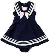 Bonnie Jean Bonnie Baby Baby Girls 12-24 Months Nautical Dress