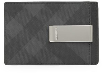 Burberry Chase London Check Card Case