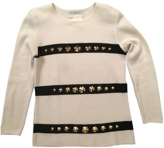 Givenchy White Cotton Knitwear for Women Vintage