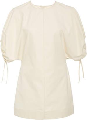 Jil Sander Poof Sleeve Cotton Top