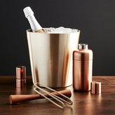Crate & Barrel Orb Wine-Champagne Bucket