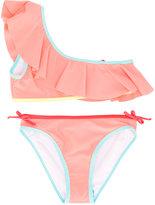 Chloé Kids - two-piece swimsuit - kids - Polyamide/Polyester/Spandex/Elastane - 8 yrs