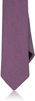 Barneys New York MEN'S NEAT-PATTERN NECKTIE-PINK