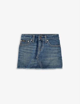 Ralph Lauren Denim mini skirt 2-16 years