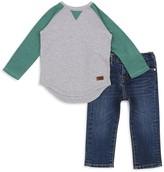 7 For All Mankind Boys' Raglan Tee & Slim-Fit Jeans Set